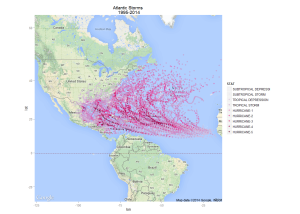 atlantic storms since 1995